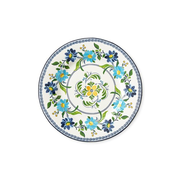 floral williams sonoma plates