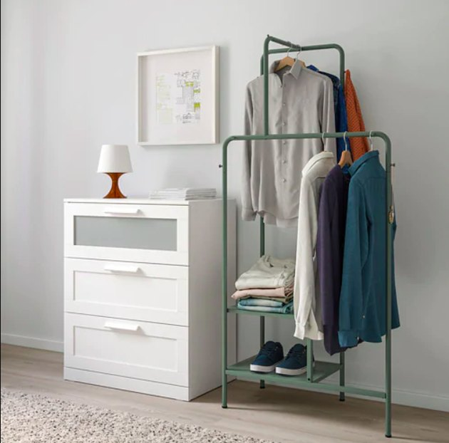 Nikkeby Clothes Rack, $60