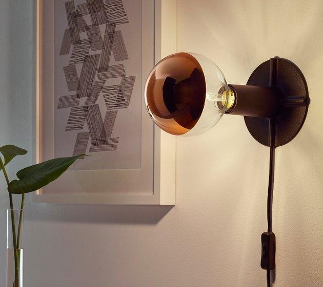 Skallran Table/Wall Lamp Base, $6.99