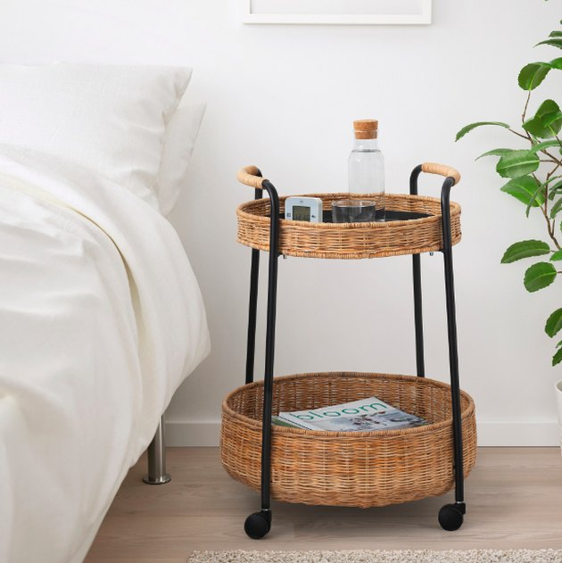 Lubban Serving Cart With Storage, $69