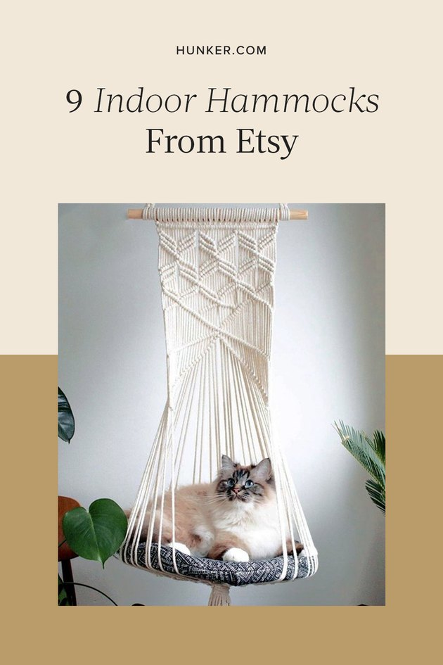 Indoor Hammocks From Etsy