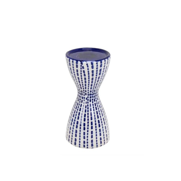 traditional pillar ceramic candlestick