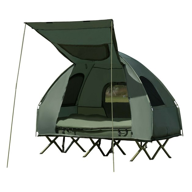 Gymax 2-Person Compact Portable Pop-Up Tent