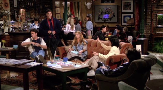 screenshot of Central Perk from Friends