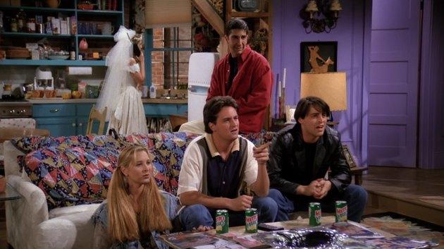 screenshot of Friends apartment