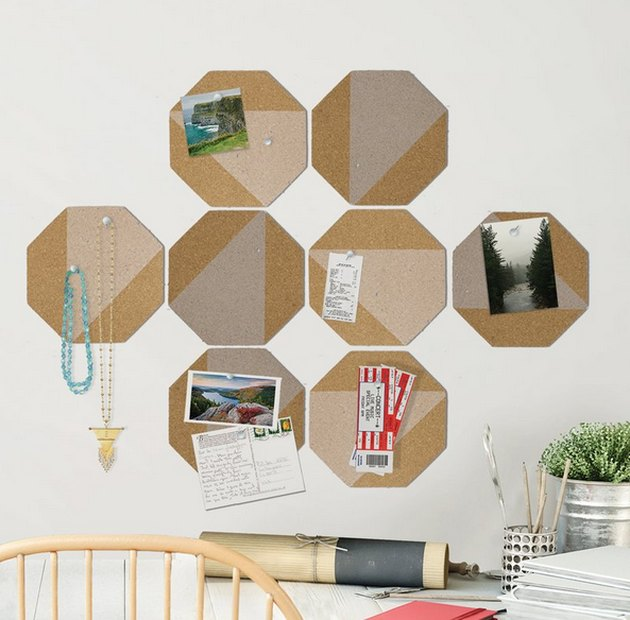 Octagon Cork boards