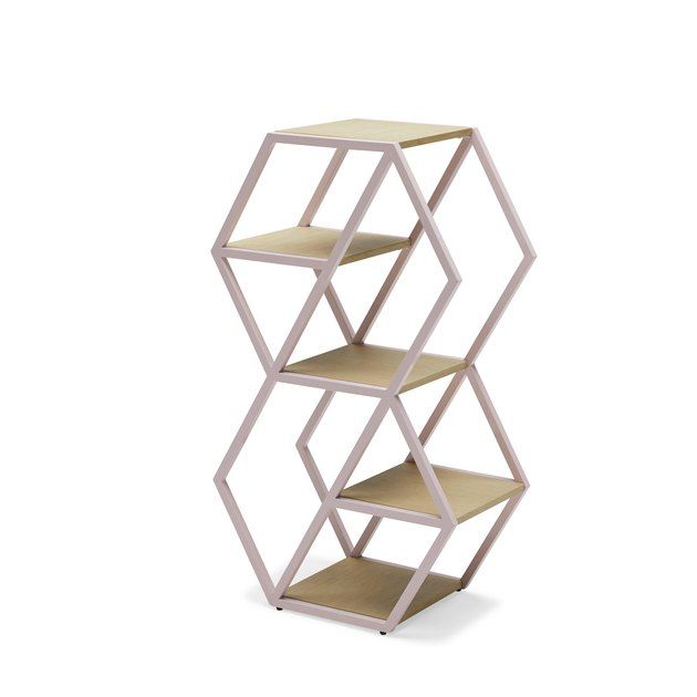 Hexagon Small Bookshelf by Drew Barrymore Flower Home, $103-$112.50