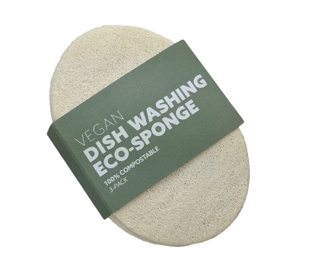 natural cleaning products Vegan Loofah Dish Washing Sponge