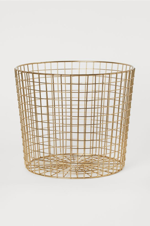 gold storage basket