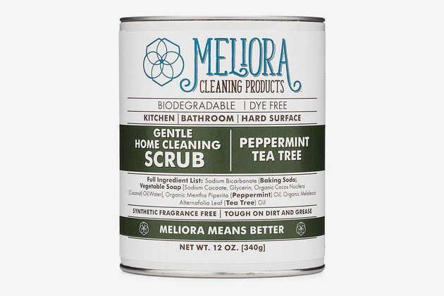 natural cleaning products Meliora home cleaning scrub.