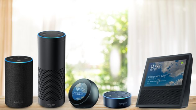 Amazon Echo product array