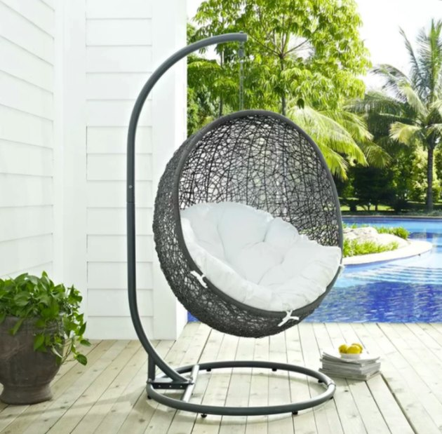 Valletta Swing Chair with Stand