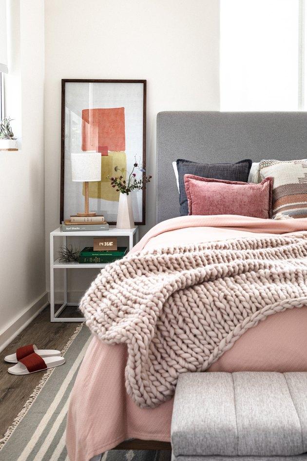 stephen paul pink bedroom makeover