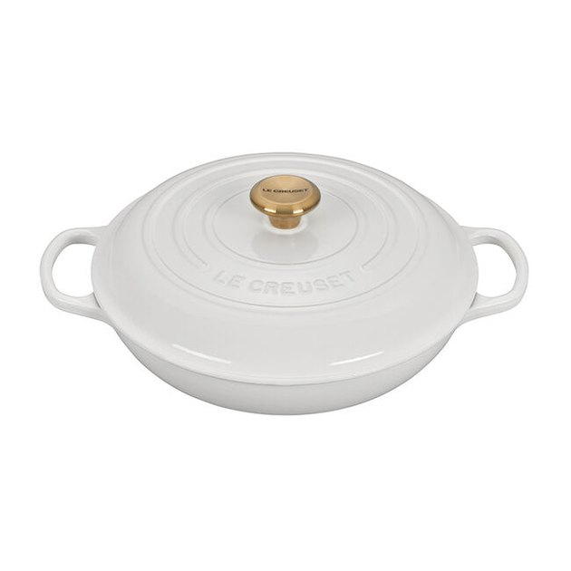 Le Creuset Braiser with Gold Knob