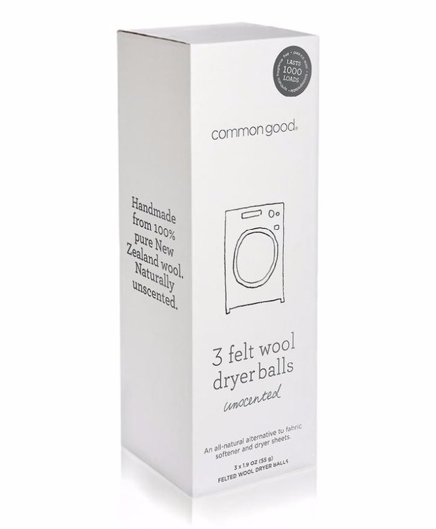 natural cleaning products Common Good Dryer Balls
