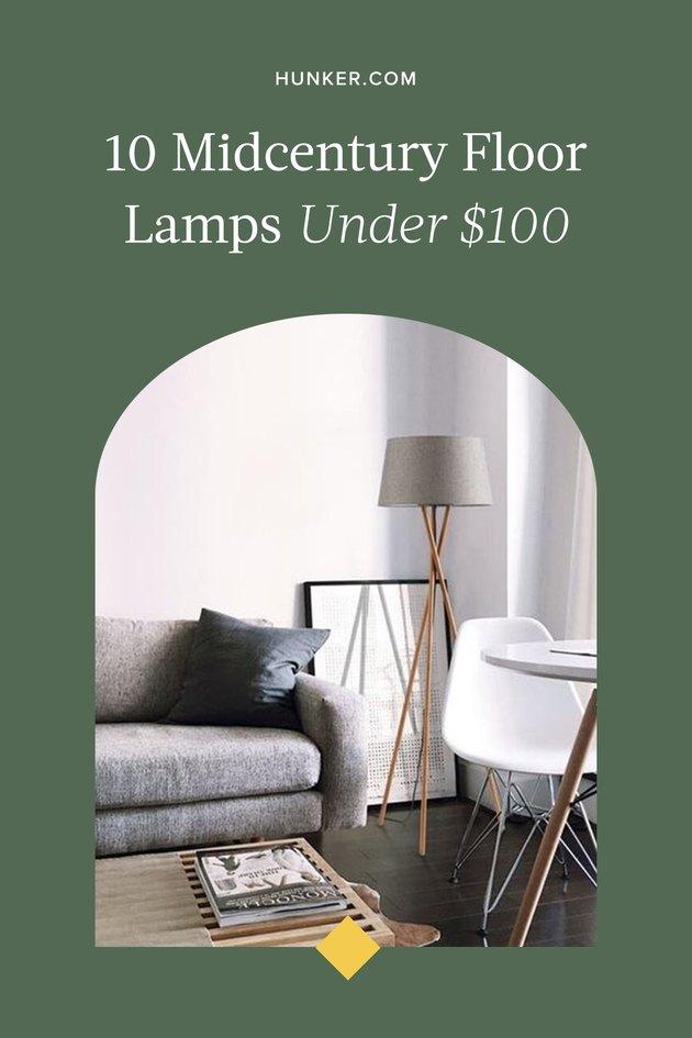 10 Gorgeous Midcentury Floor Lamps Under $100