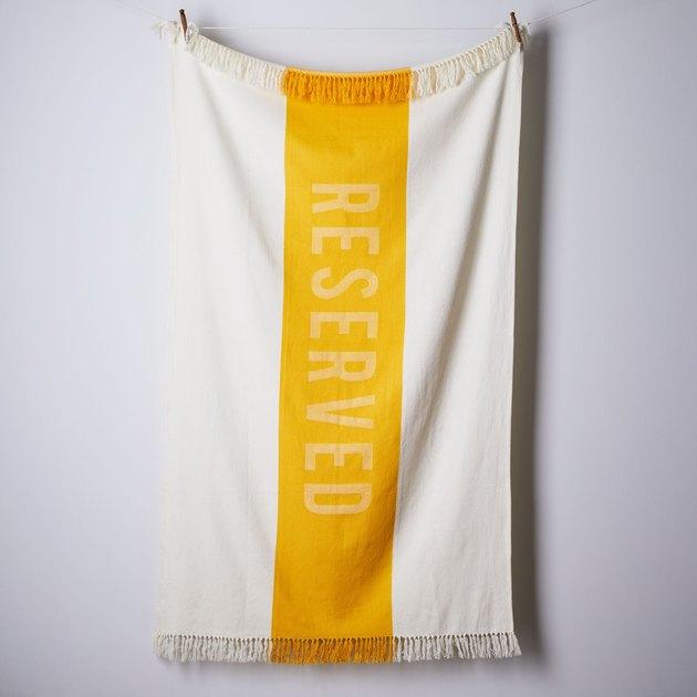 Sir/Madam Beach Towel