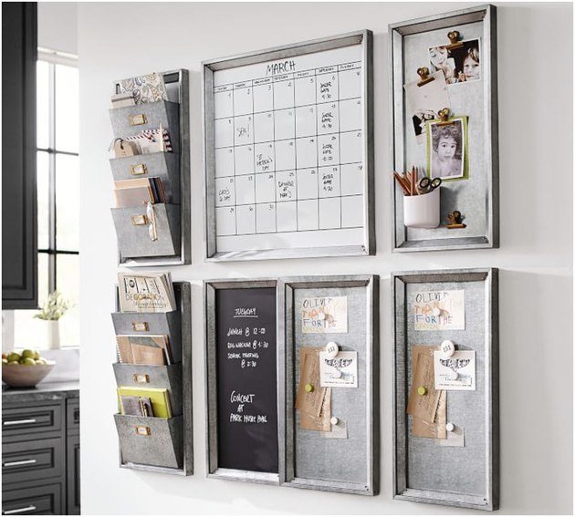 Command center from Pottery Barn
