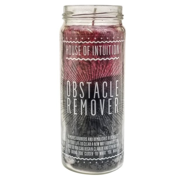House of Intuition Obstacle Remover Candle, $18