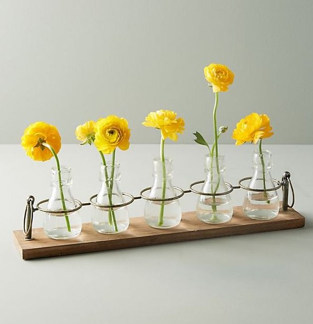 Anthropologie Apothecary Bud Vases, $58