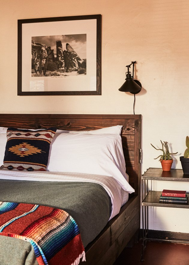 Pioneertown Motel room