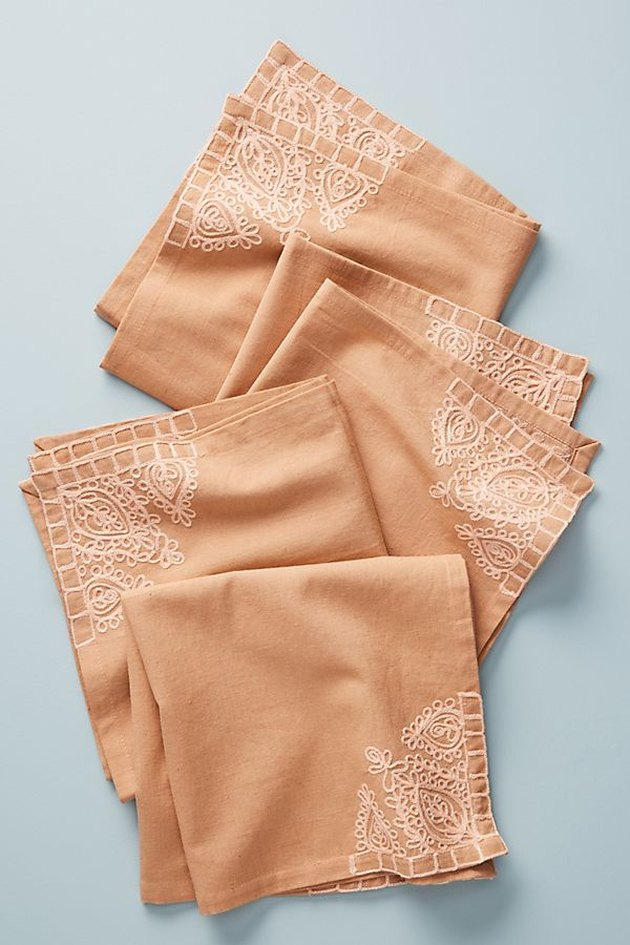 anthropologie mila napkins set