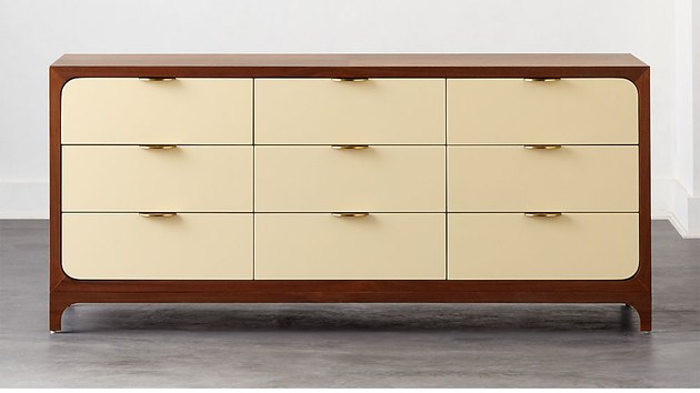 lacquered ivory dresser