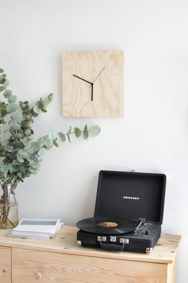 plywood clock tutorial