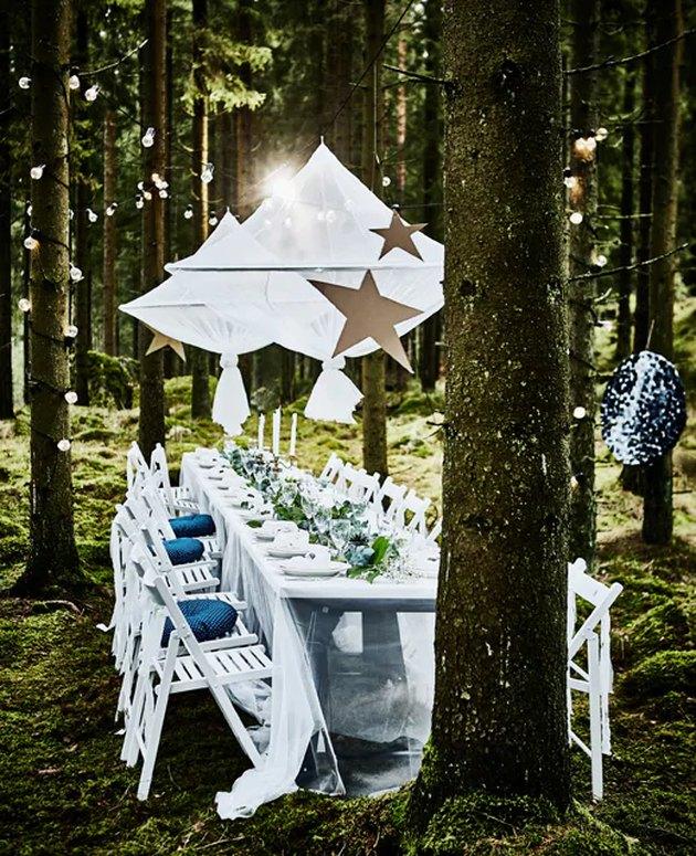 diy wedding decor IKEA hack