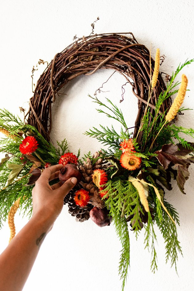 DIY Thanksgiving Wreath