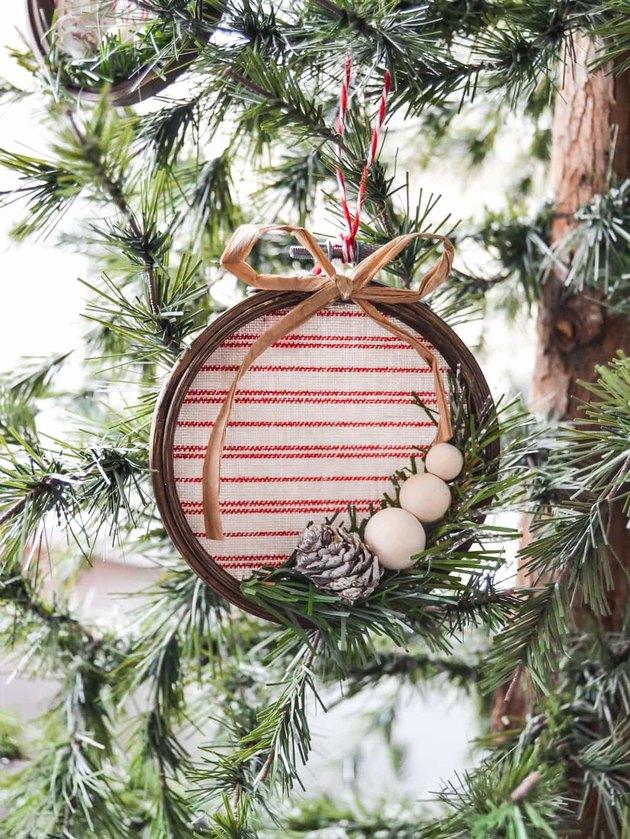 DIY holiday ornament