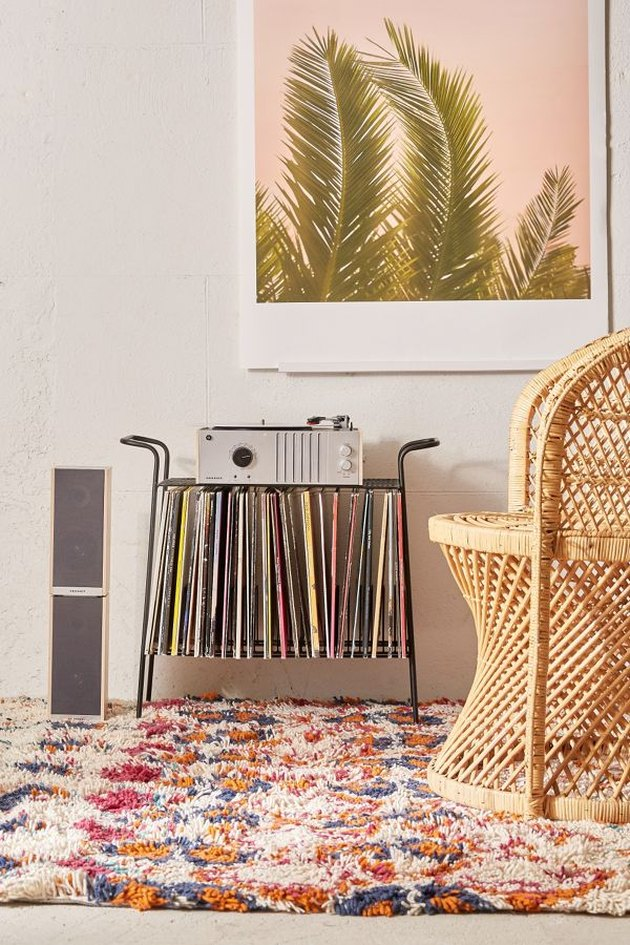 Urban Outfitters Larisa Record Storage