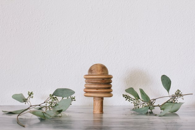 DIY mini wooden tree