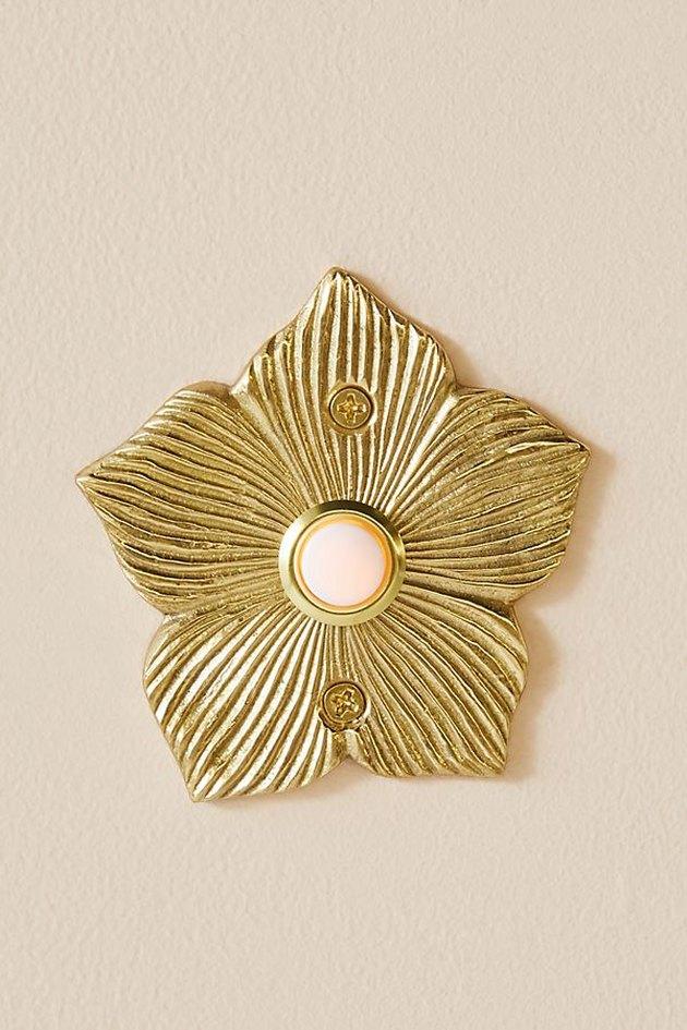 petal shaped doorbell cover