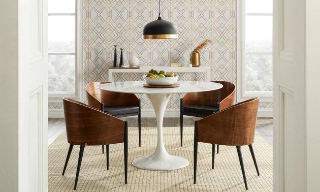 Midcentury Modern Dining Room Lighting Ideas Hunker