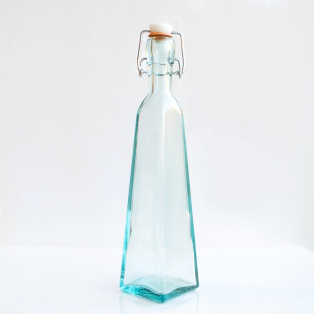 Eco Collective's 12 oz. Pyramid Recycled Glass Swing-Top Bottle