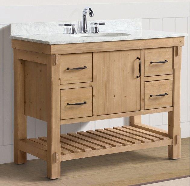 """Three Posts Kordell 36"""" Single Bathroom Vanity Se"""