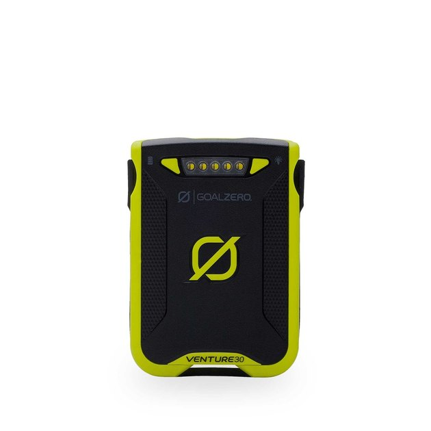 black and green power bank