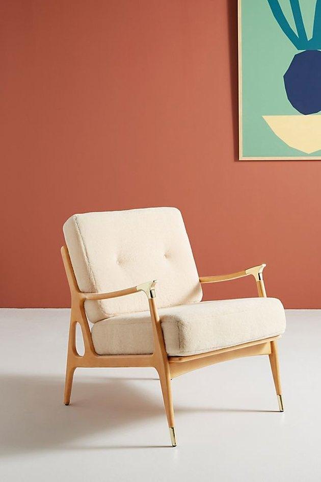 wool chair