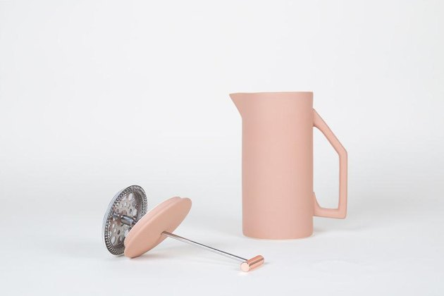 yield pink french press