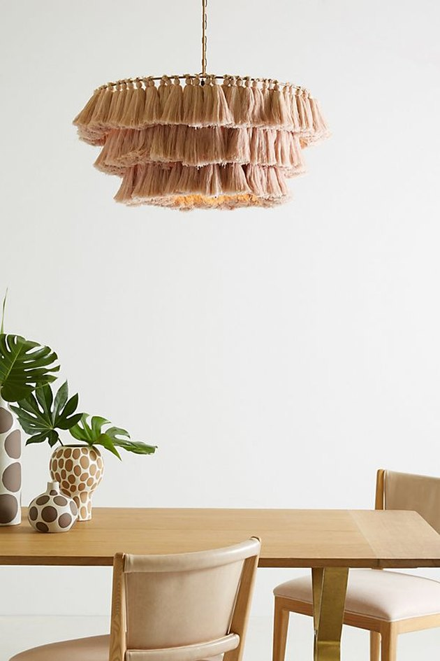 anthropologie tassel light