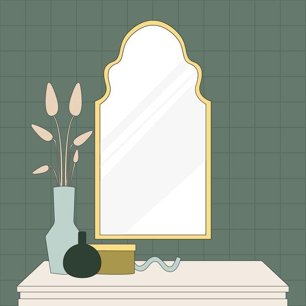 mirror illustration