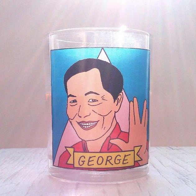 flaming idols george takei candle