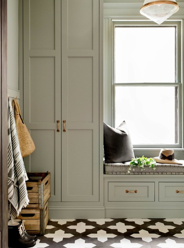 Becca Interiors Mudroom