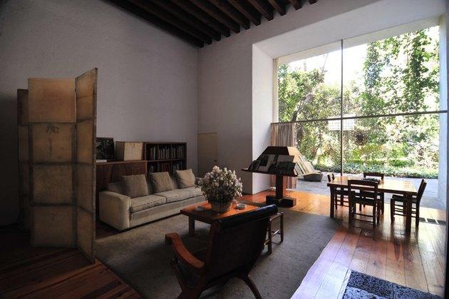 Interior of Casa Luis Barragan