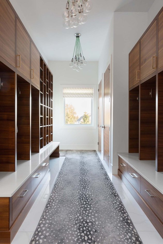 Reena Sotropa In House Design Group mudroom