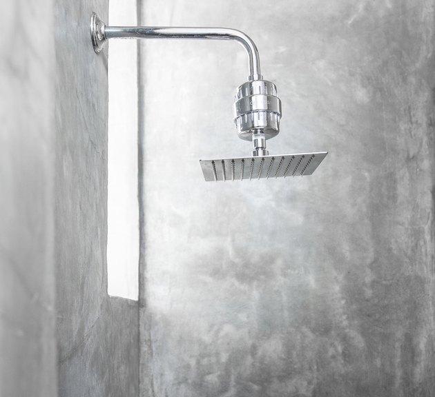 Fixed rainfall showerhead