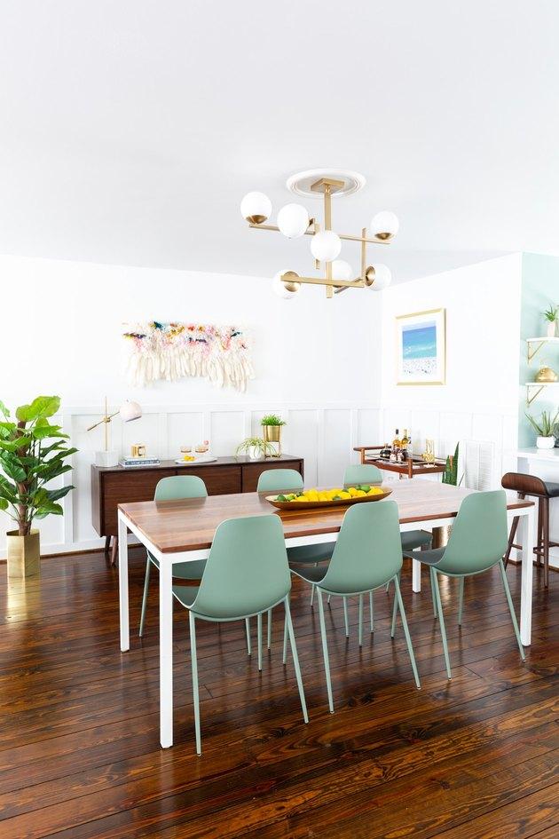 Sugar & Cloth Dining Room Makeover
