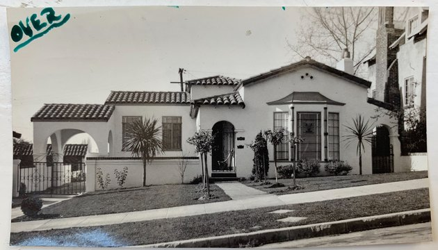 old photo of the house