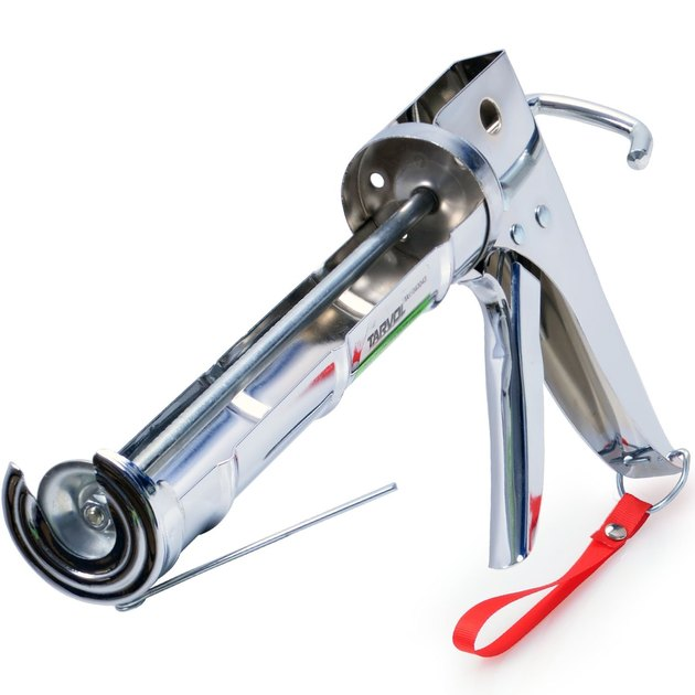 Chrome caulk gun